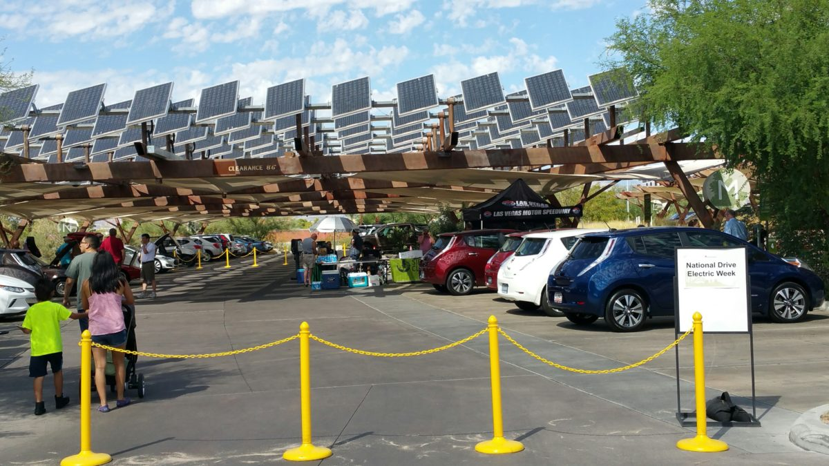 LVEVA Electric Car Rally at Springs Preserve on September 9th from 10 AM to 2 PM.